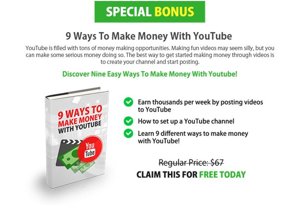 9 Ways To Make Money With You Tube
