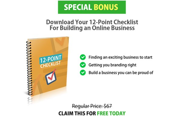 Download Your 12 Point Checklist
