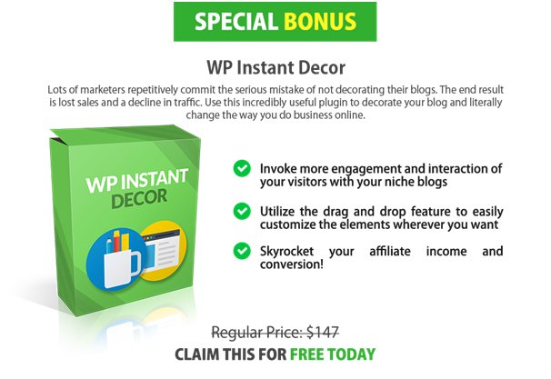 WP Instant Decor