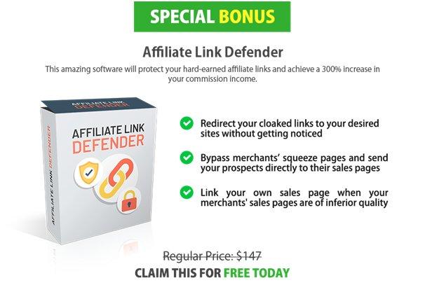 Affiliate Link Defender