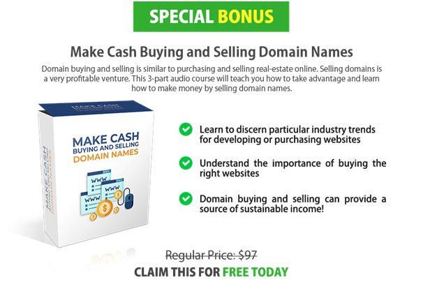 make Cash Buying and Selling Domain Names